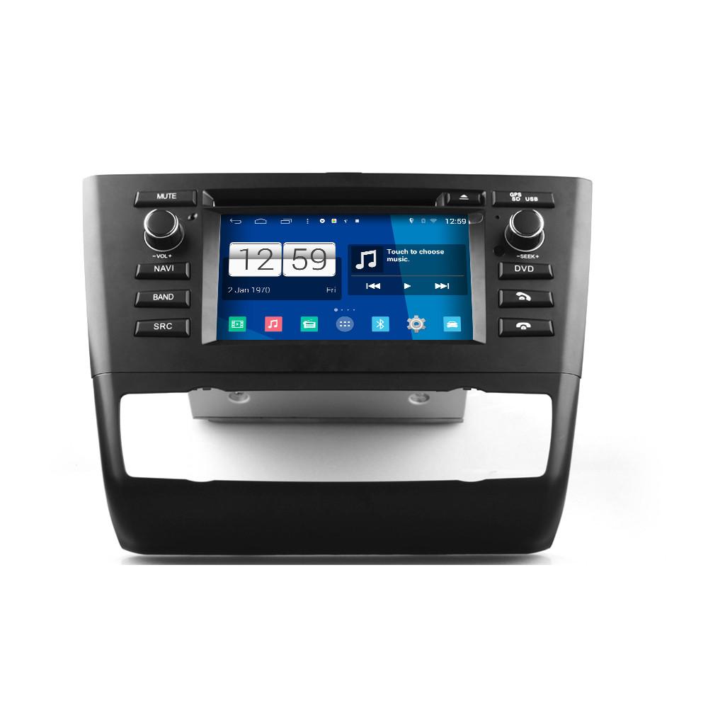 bmw serie 1 e87 autoradio android 4 4 s160 radio dvd navegador gps android 4 4 4 s160. Black Bedroom Furniture Sets. Home Design Ideas