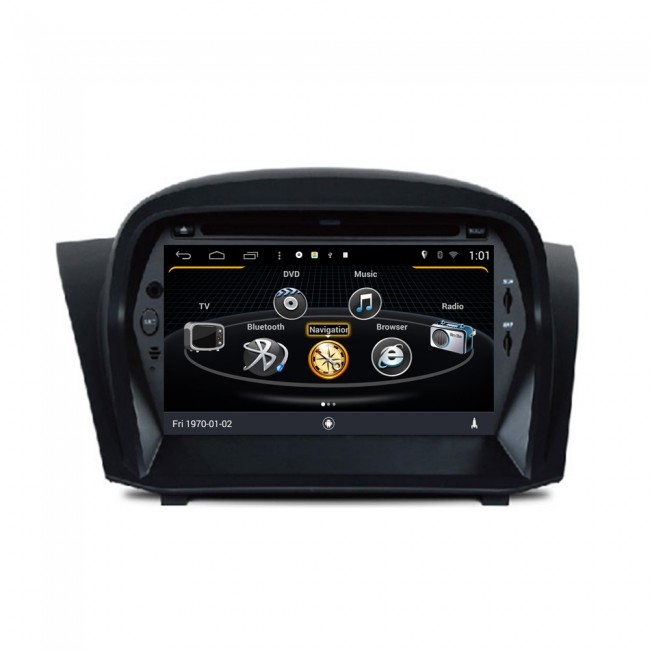 ford fiesta autoradio android 4 4 s160 radio dvd. Black Bedroom Furniture Sets. Home Design Ideas